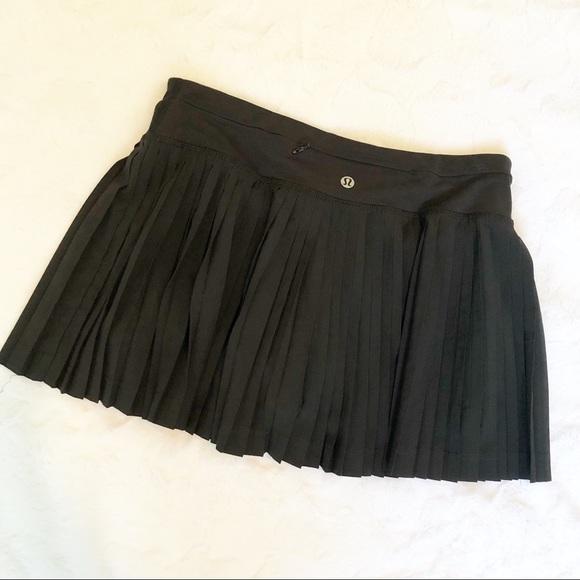 b27099a0b1 lululemon athletica Dresses & Skirts - Lululemon Pleat to Street Black  Tennis Skirt
